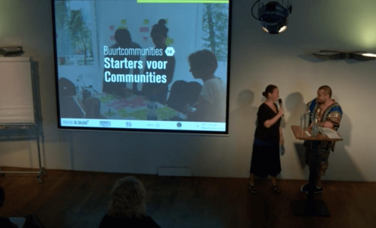 Buurtcommunities met Starters4Communities