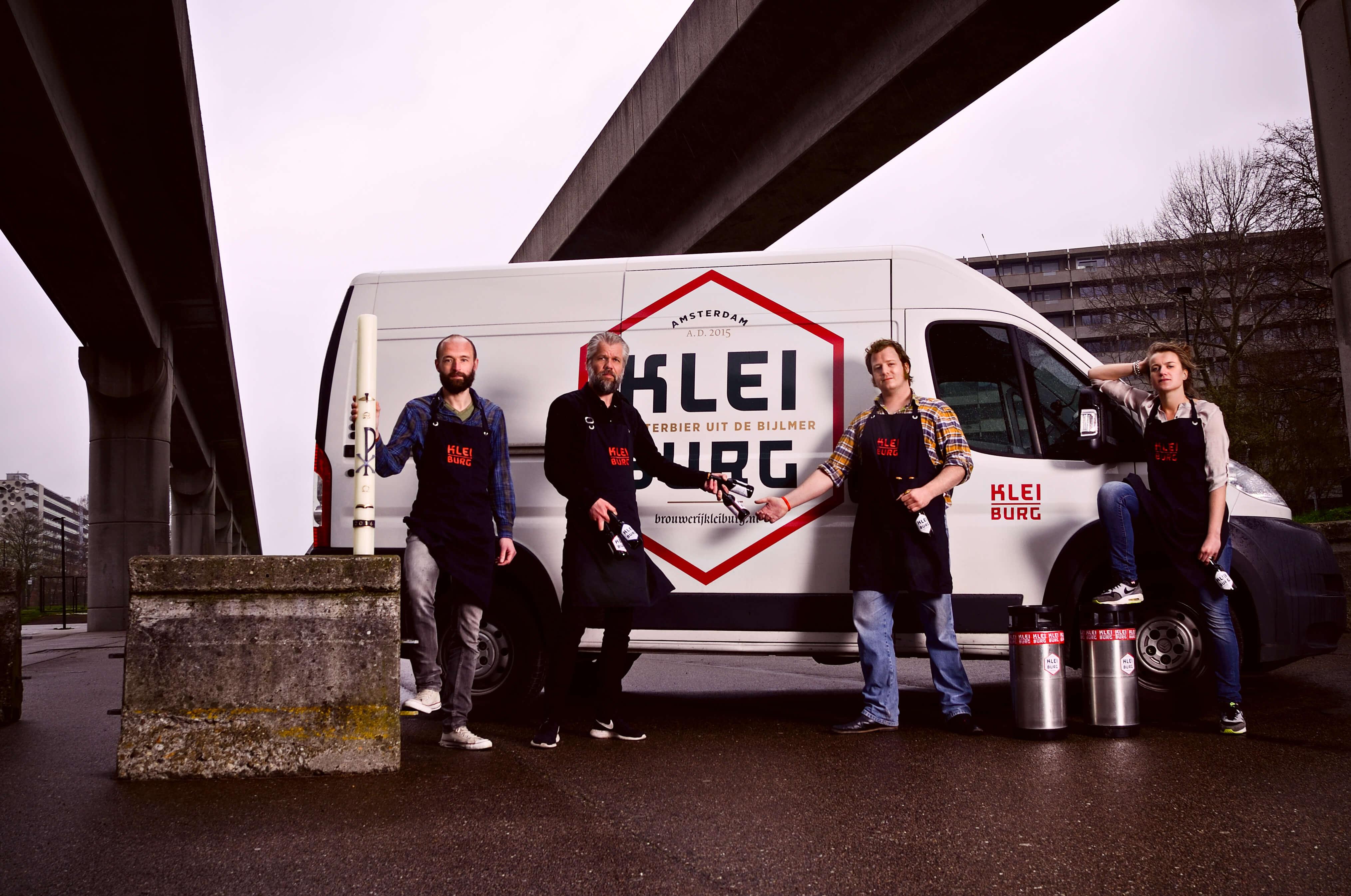 Het team van Bouwerij Kleiburg