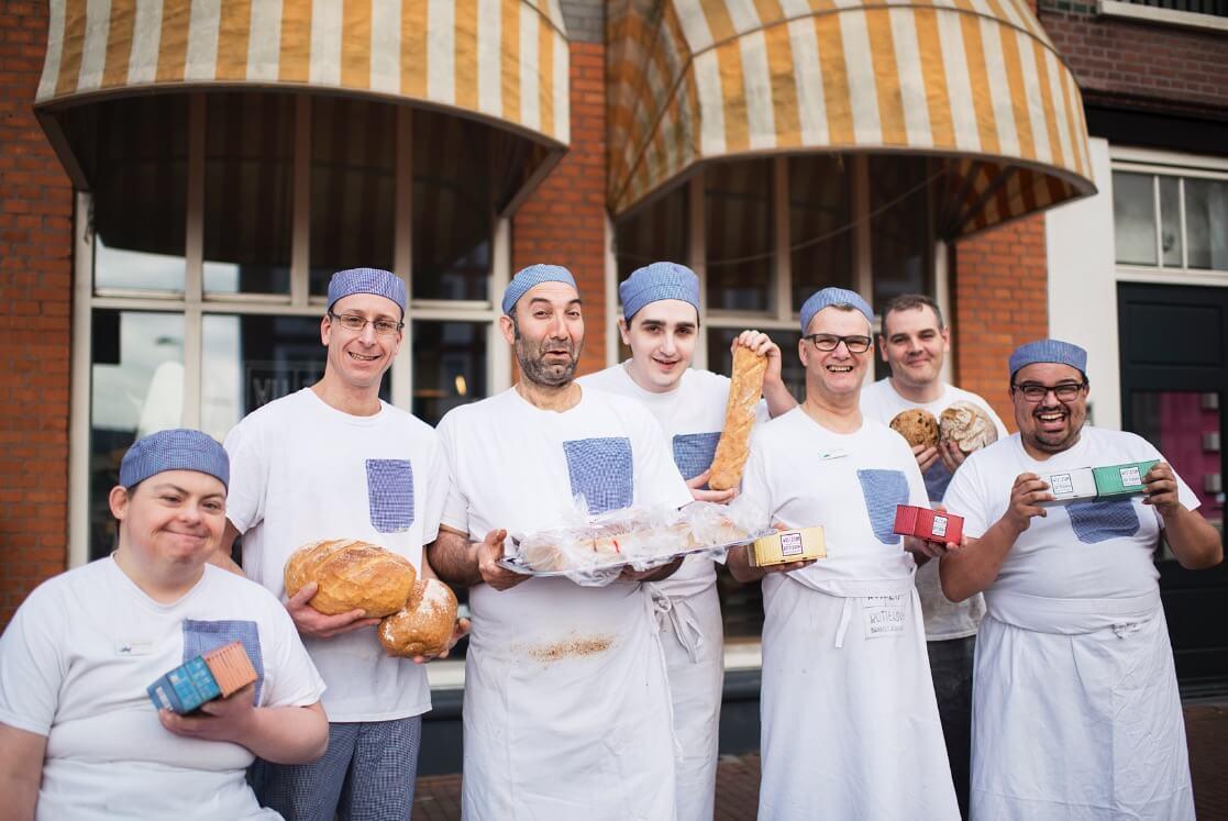 De bakkers van De Bakkerswerkplaats