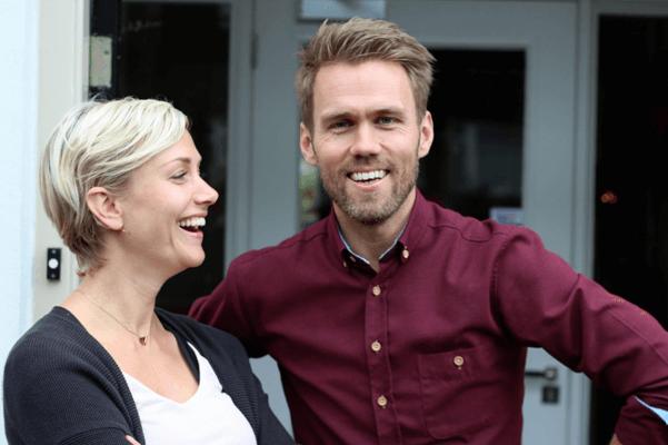 Freke van Nimwegen en Bart Roetert