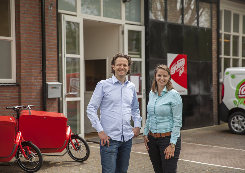 Eddy te Rietstap en Marieke Snoek