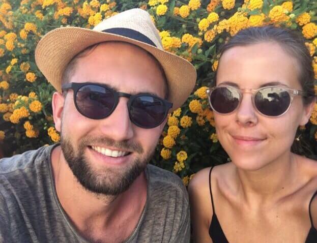 Niels Visser en Aishah Snoek