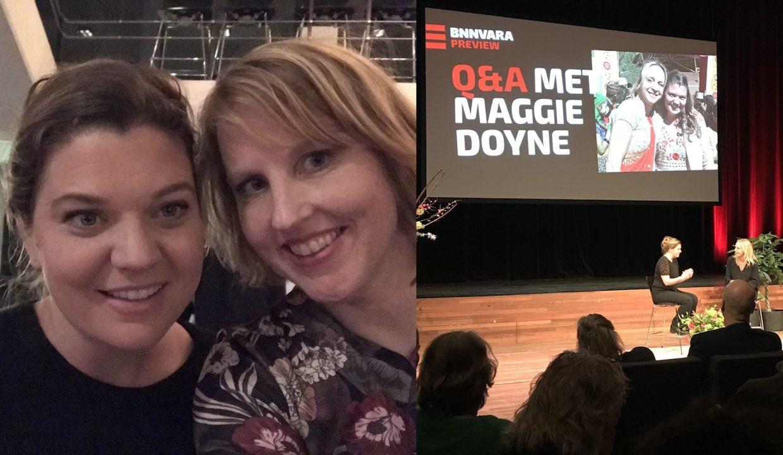 Maggie Doyne en Kim van Schie